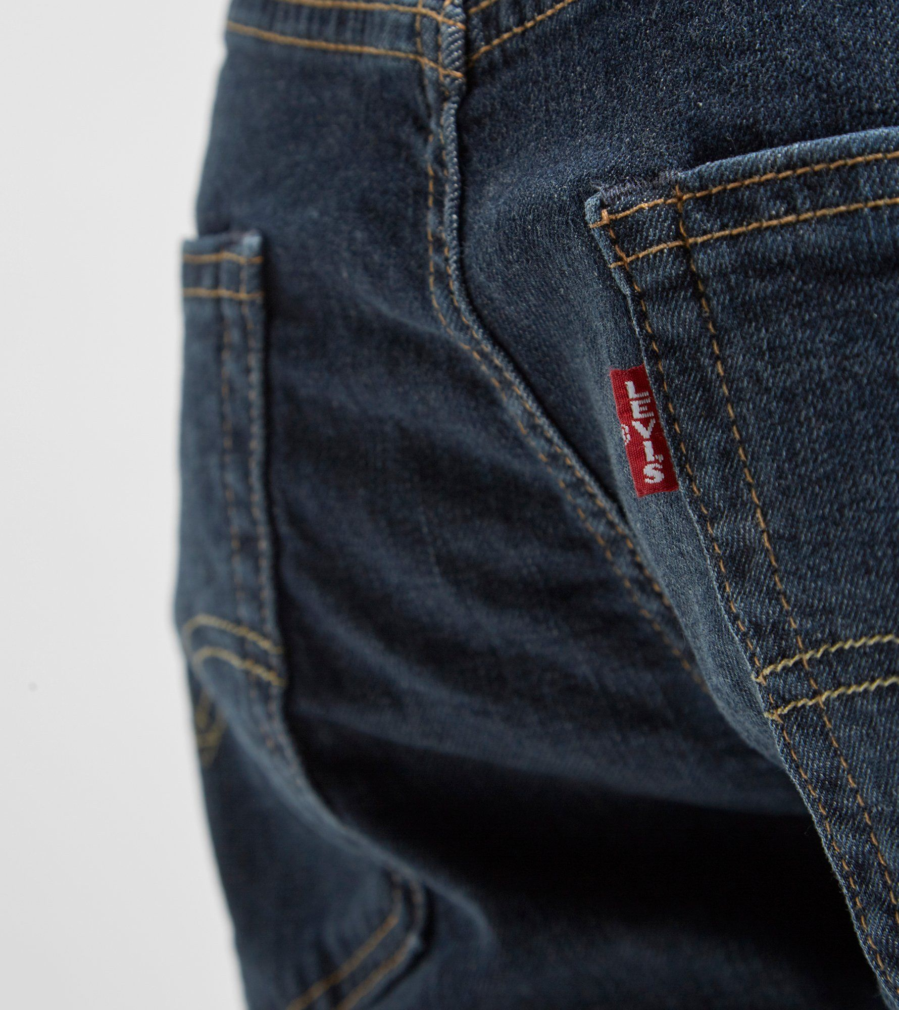 Levis 502 Taper Hemmed Denim Short