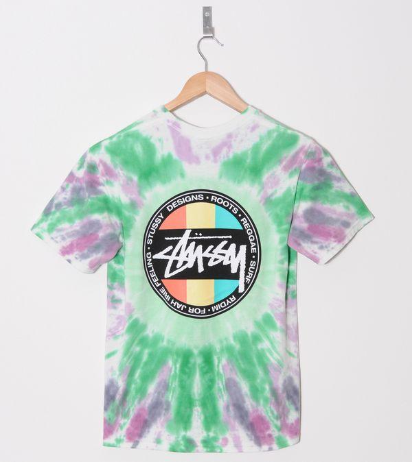 d343e448 Stussy Reggae Dot Tie Dye T-Shirt | Size?