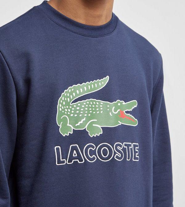 Lacoste Logo Crew Sweatshirt