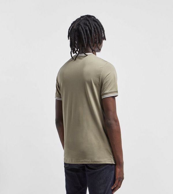 cbb586e92 Fred Perry Twin Tipped Ringer Short Sleeve T-Shirt