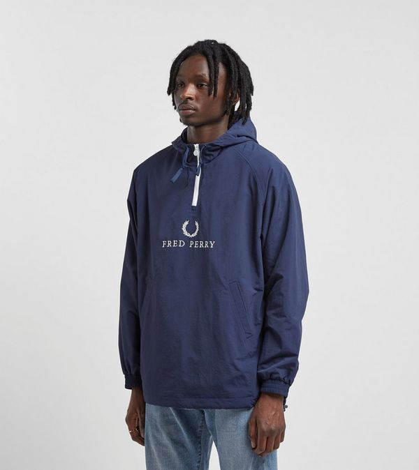 60b7d92dabb Fred Perry Embroidered 1/2 Zip Jacket | Size?