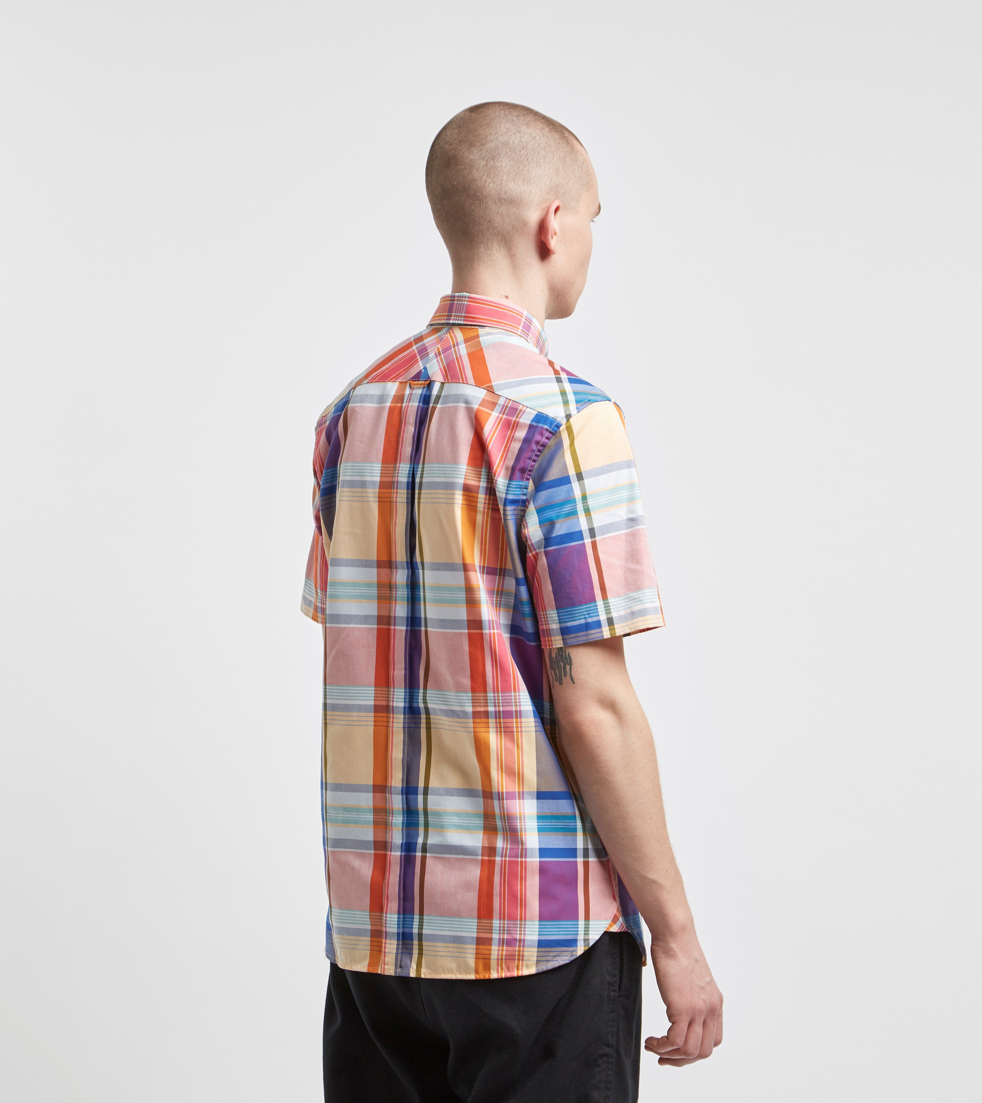 Fred Perry Madras Short Sleeve Check Shirt