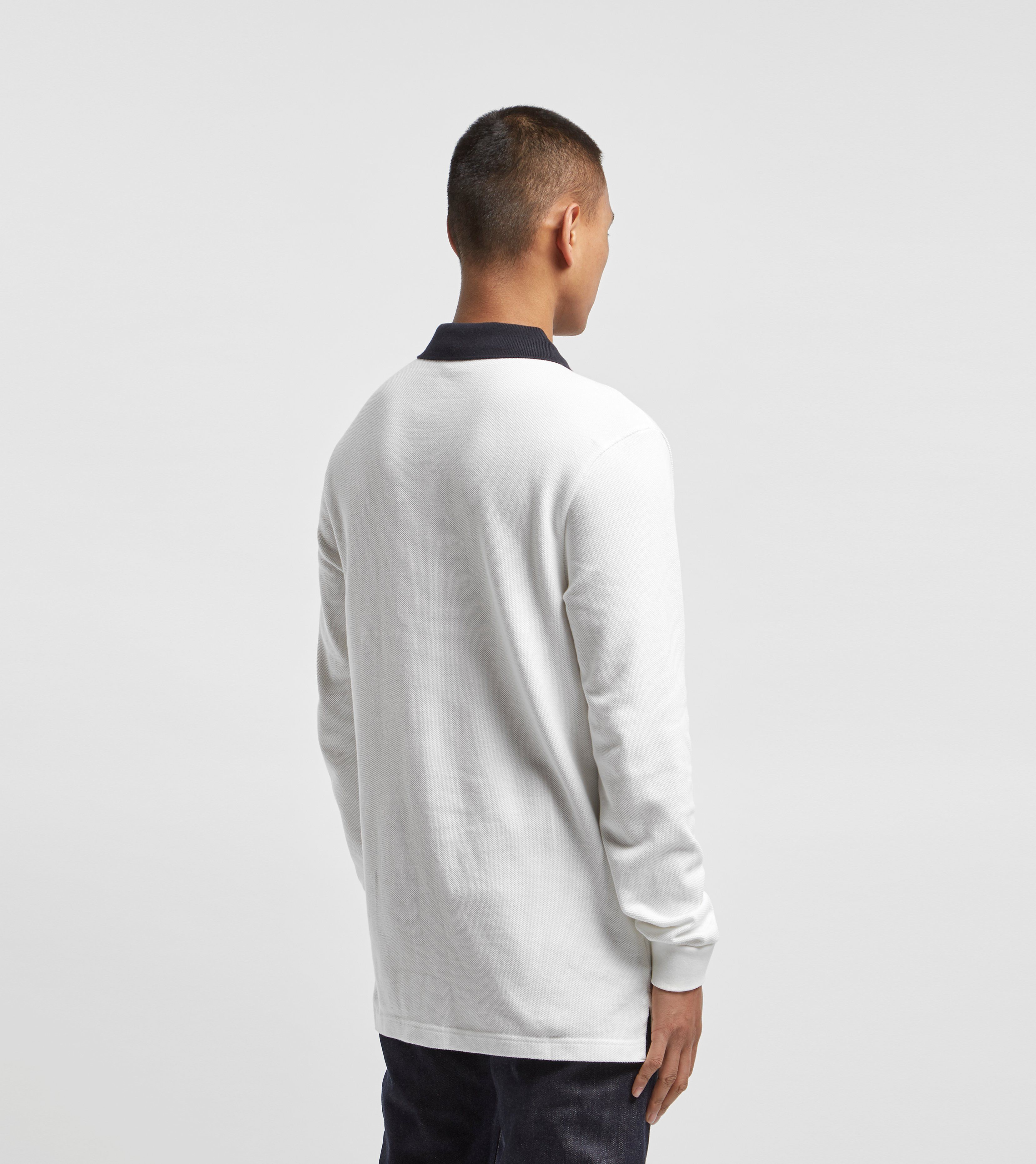 Fred Perry Sports Tape Long Sleeve Pique Polo