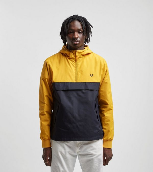 171794a254f Fred Perry Half Zip Panelled Jacket | Size?