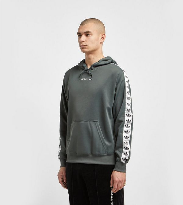 san francisco 4b0eb 84682 adidas Originals TNT Trefoil Tape Overhead Hoodie