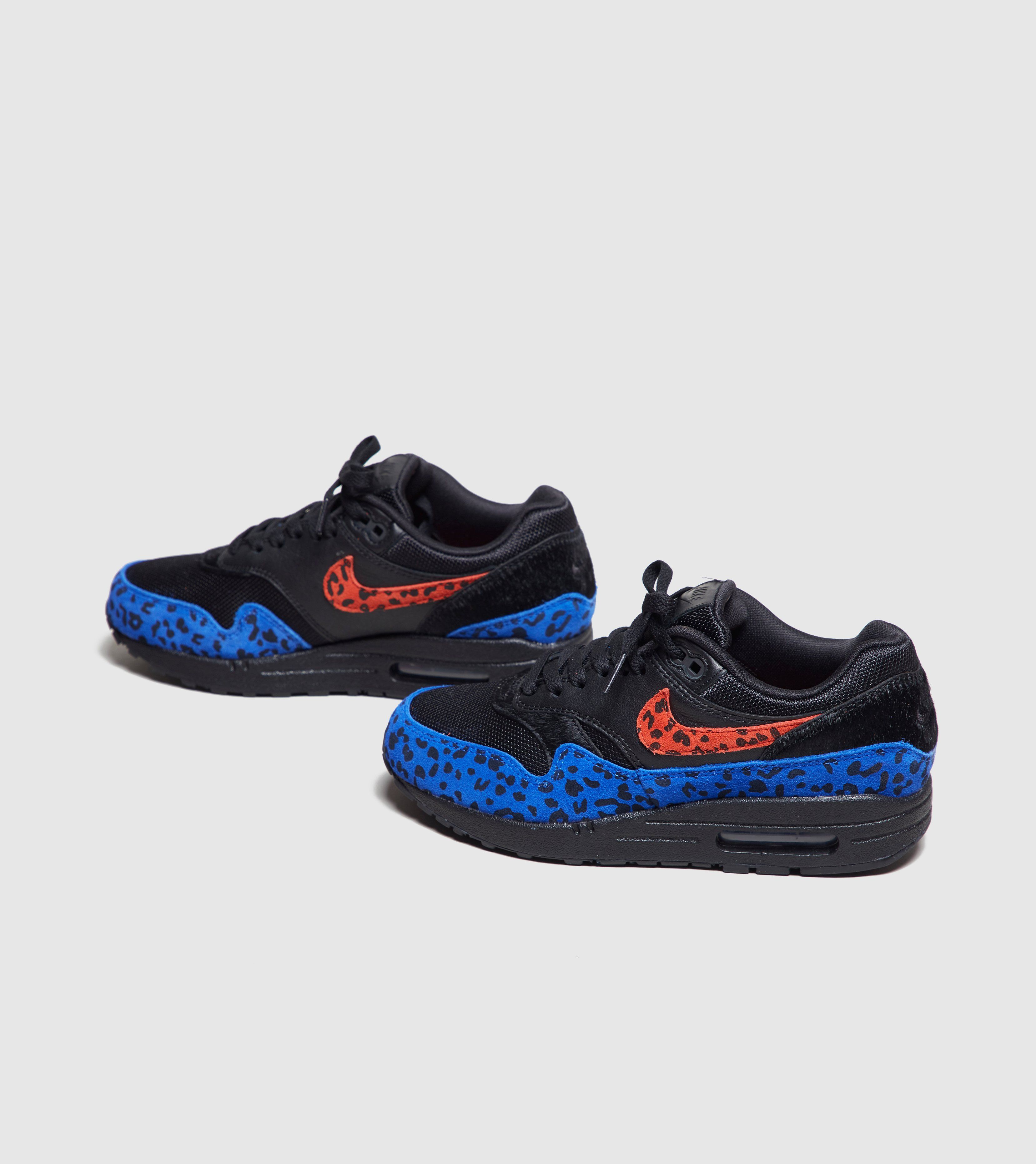 Nike Air Max 1 Premium 'Black Leopard' Women's