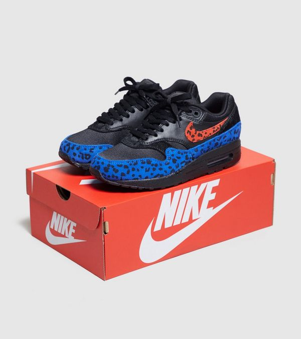 buy popular 96519 9cdd1 Nike Air Max 1 Premium  Black Leopard  Women s