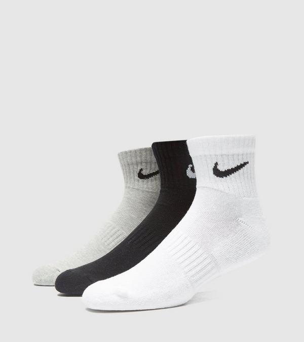 Nike 3-Pack Lightweight Quarter  Sokken