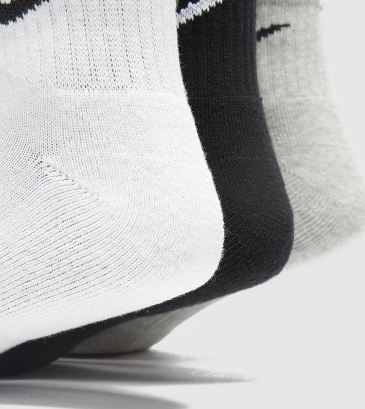 Nike 3-Pack Lightweight Quarter Sokker - 3-pakke