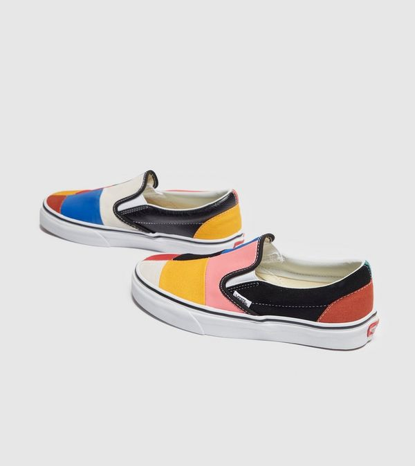 Vans Slip On Patchwork Dames