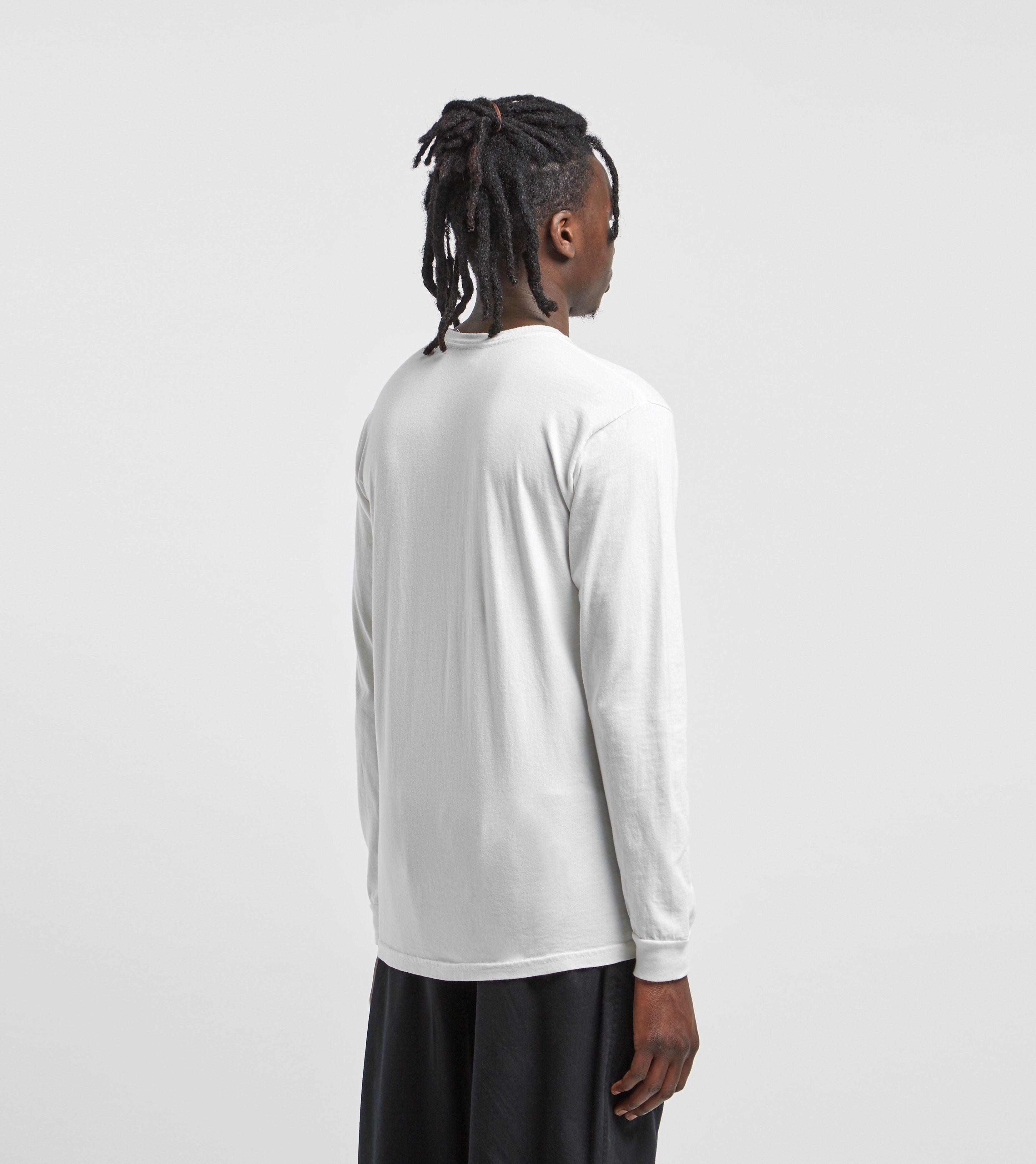Stussy Drop U Pigment Dyed Long Sleeve T-Shirt