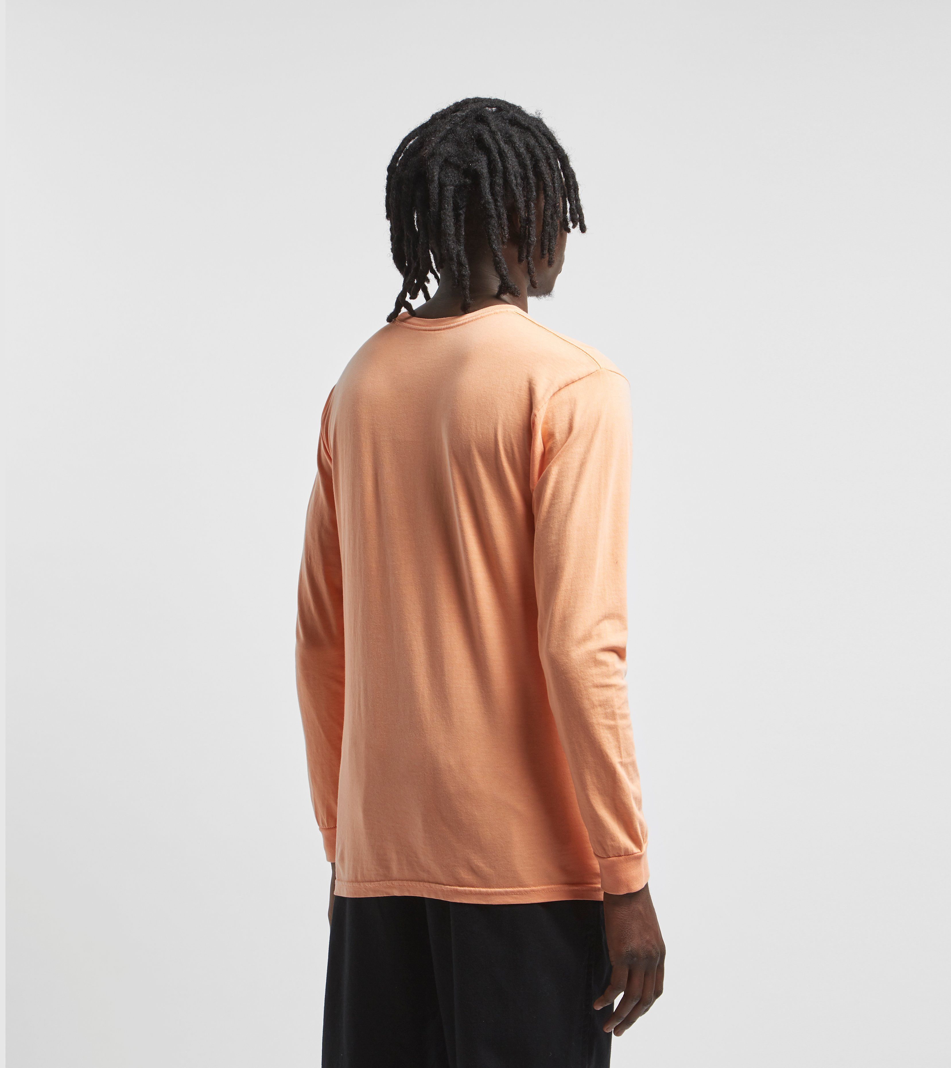 Stussy Shroom Pigment Dyed Long Sleeve T-Shirt