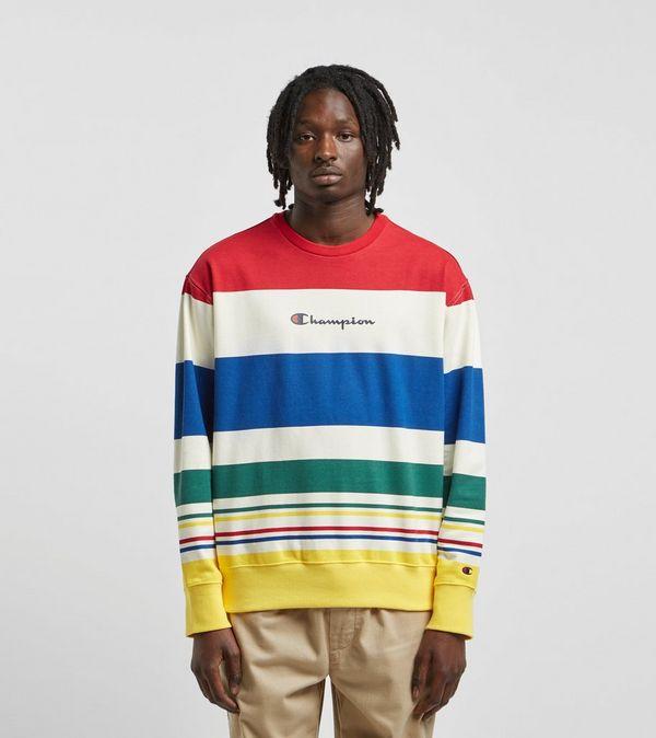ac47d3cb8 Champion Multi Stripe Crewneck Sweatshirt | Size?