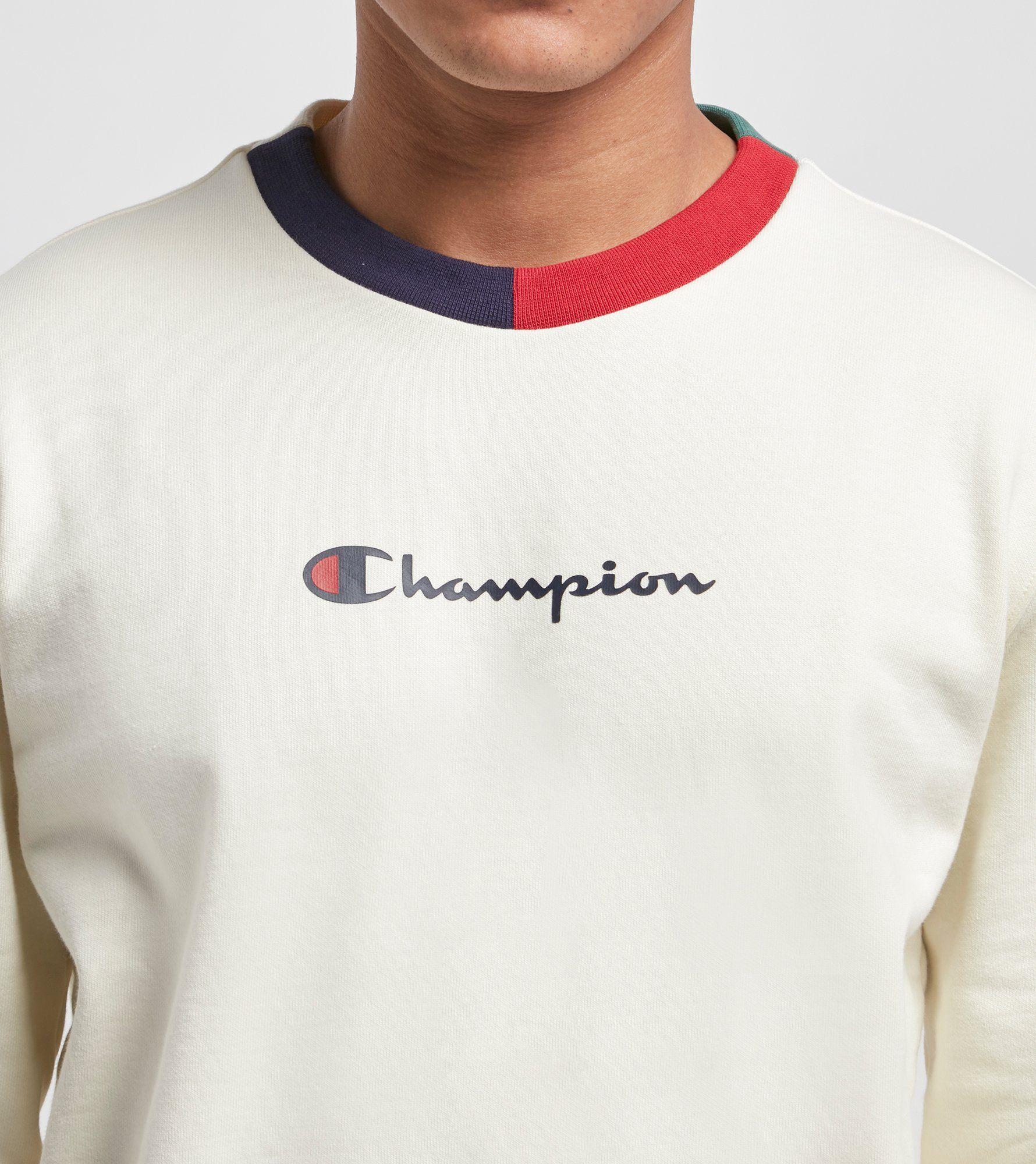 Champion Split Crew Sweatshirt