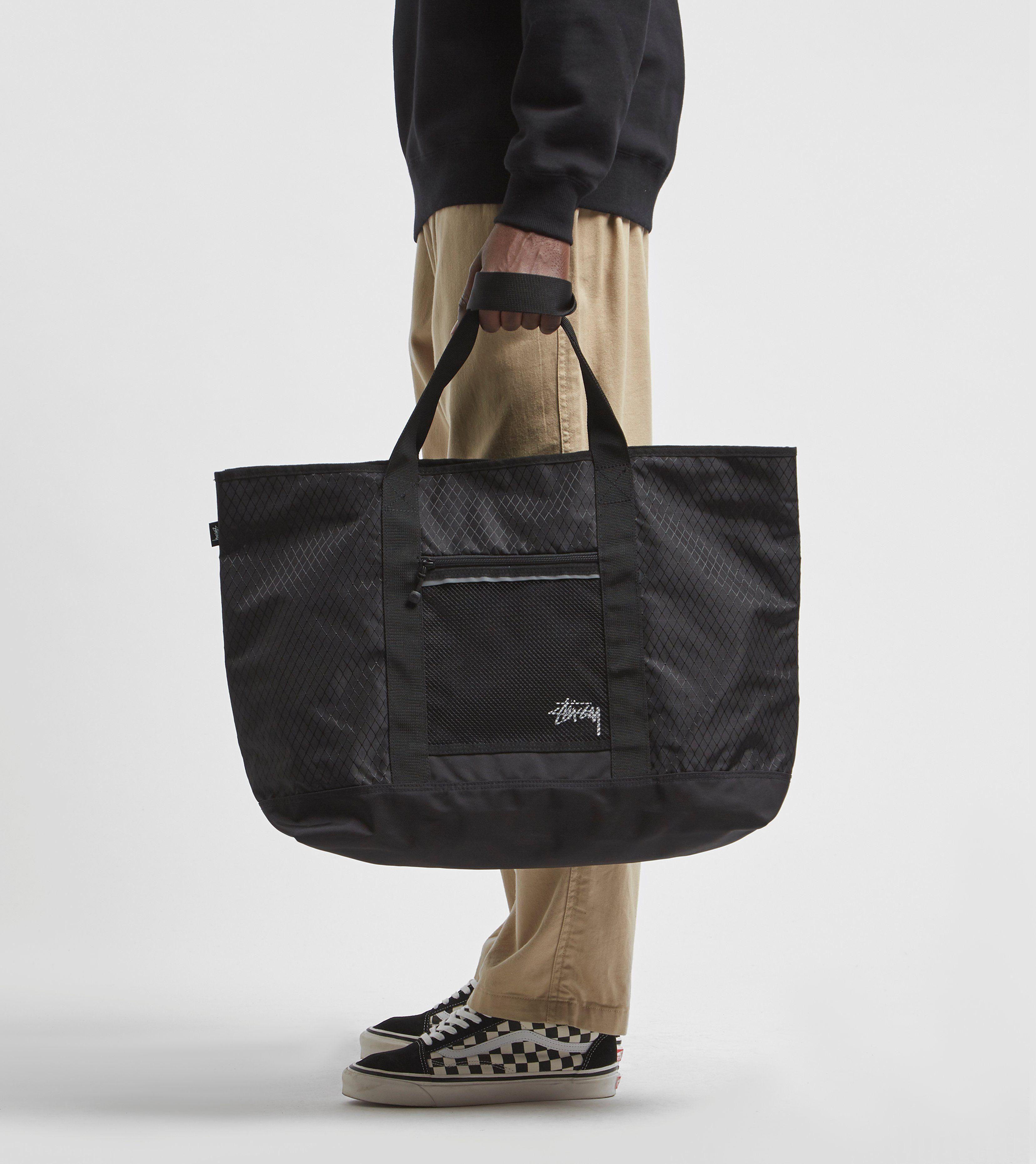 Stussy Diamond Ripstop Tote Bag