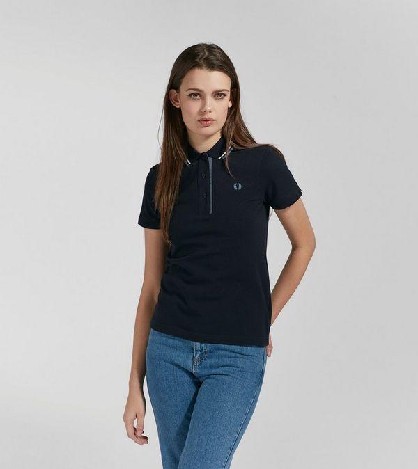 82eca8ab Fred Perry Oxford Trim Pique Polo Shirt | Size?