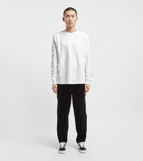 Lost Management Cities Italic Logo Long Sleeved T-Shirt