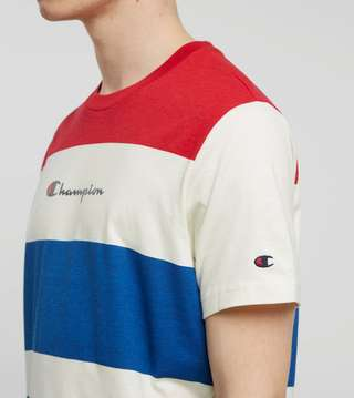 Champion Engineered Stripe T-Shirt