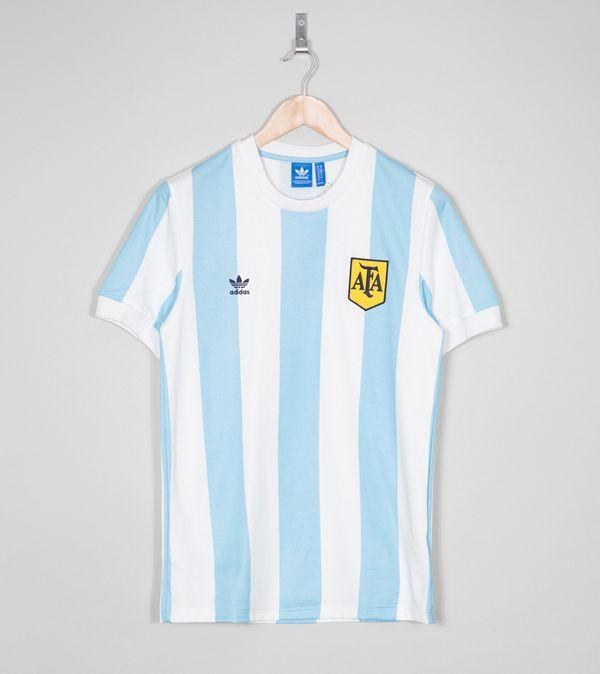 8e1a54bc82d adidas Originals Argentina Retro T-Shirt