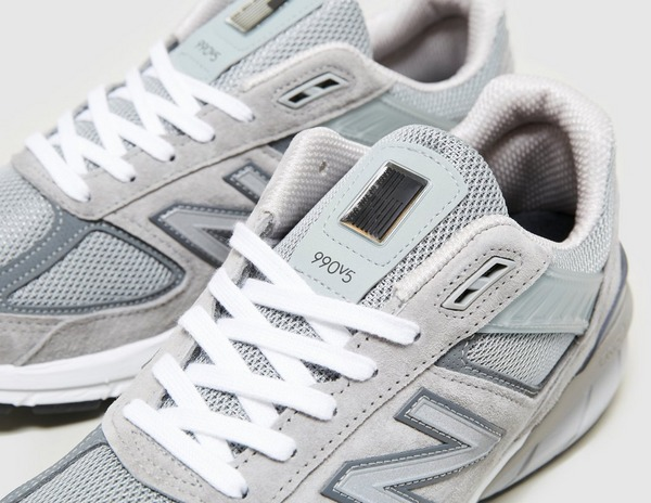 Grey New Balance 990 v5   size?