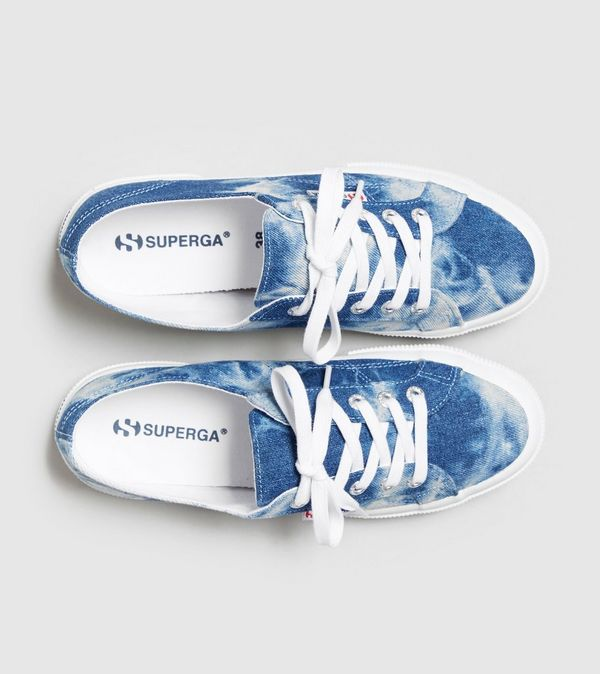 SUPERGA 2750 Cotu Tie Dye Denim Women's