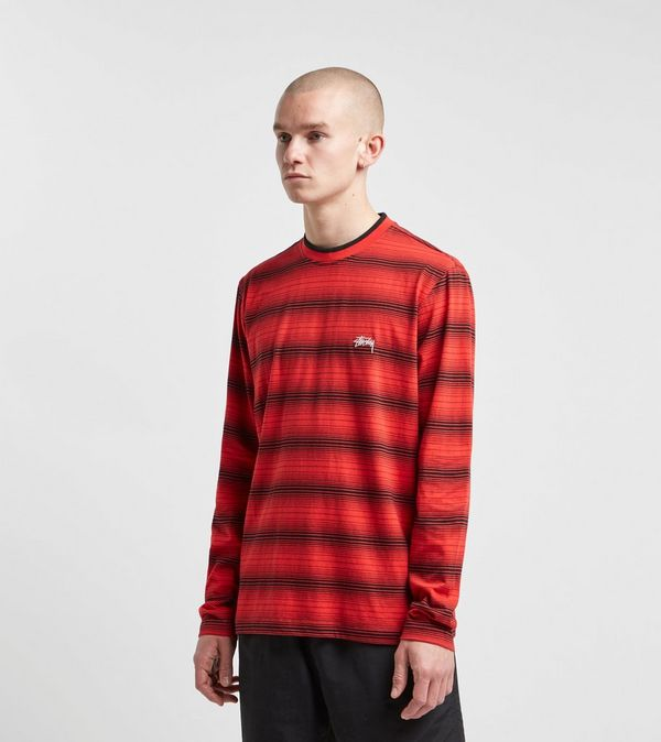 Stussy Long Sleeve Ombre Crew T-Shirt