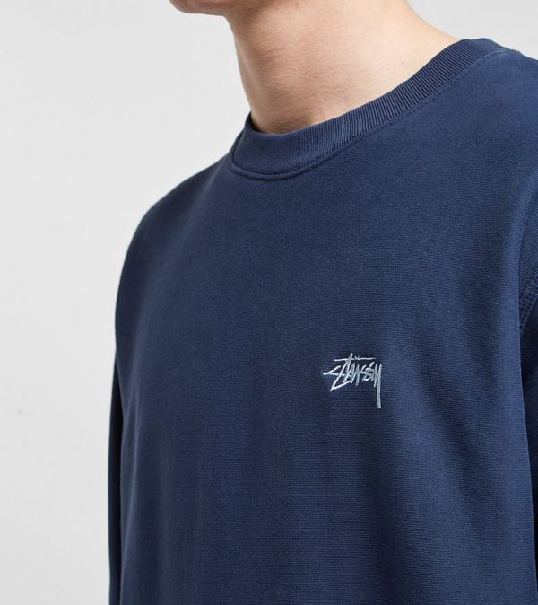 Stussy Stock Logo Crew Sweatshirt