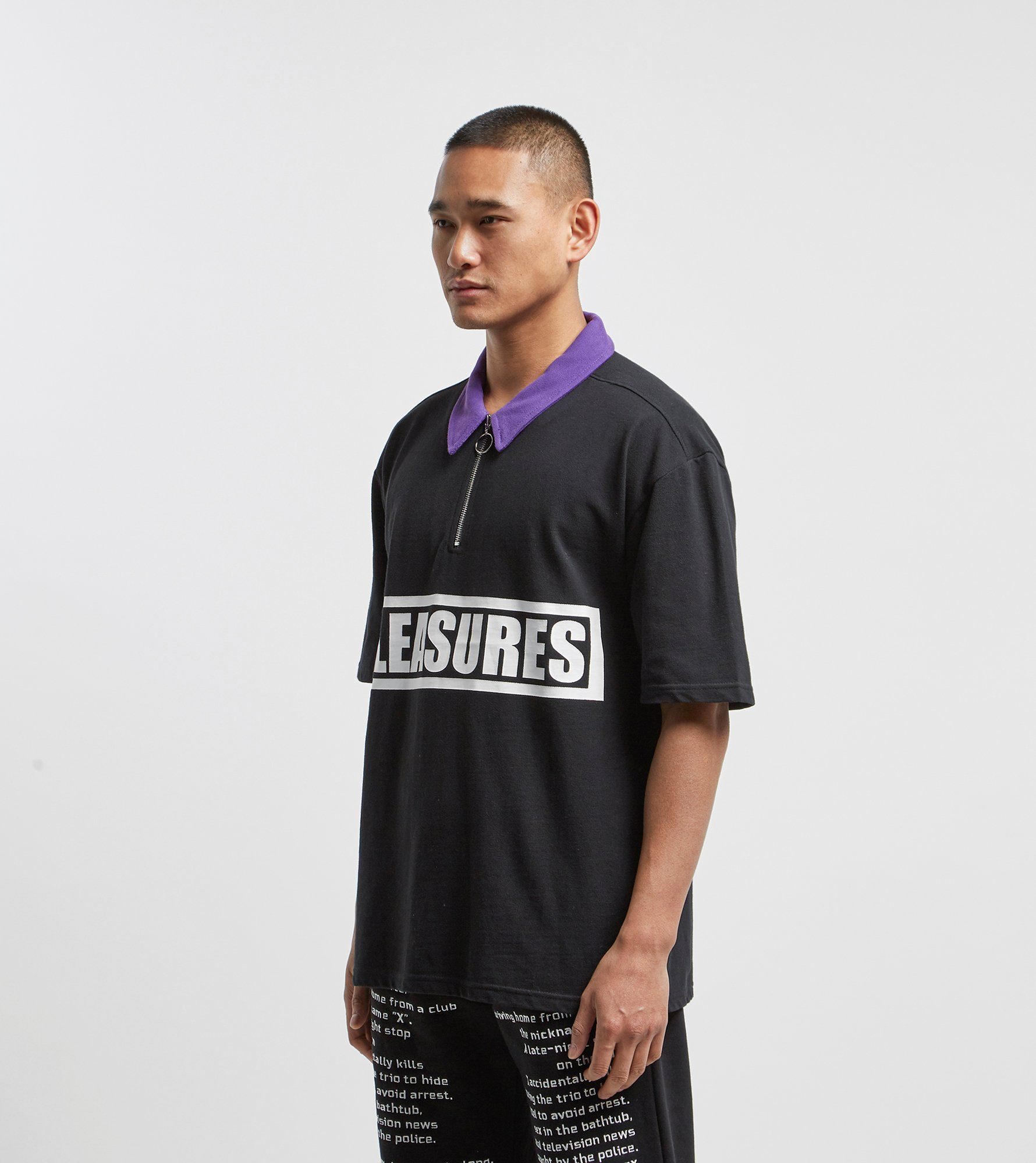 PLEASURES Revolution Polo Shirt