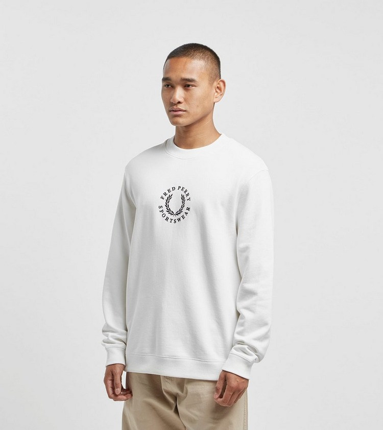 Fred Perry Global Branded Sweatshirt - size? Exclusive