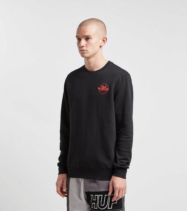 HUF Issue Logo Sweatshirt