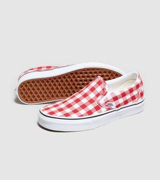 Vans Slip-On Gingham Women's