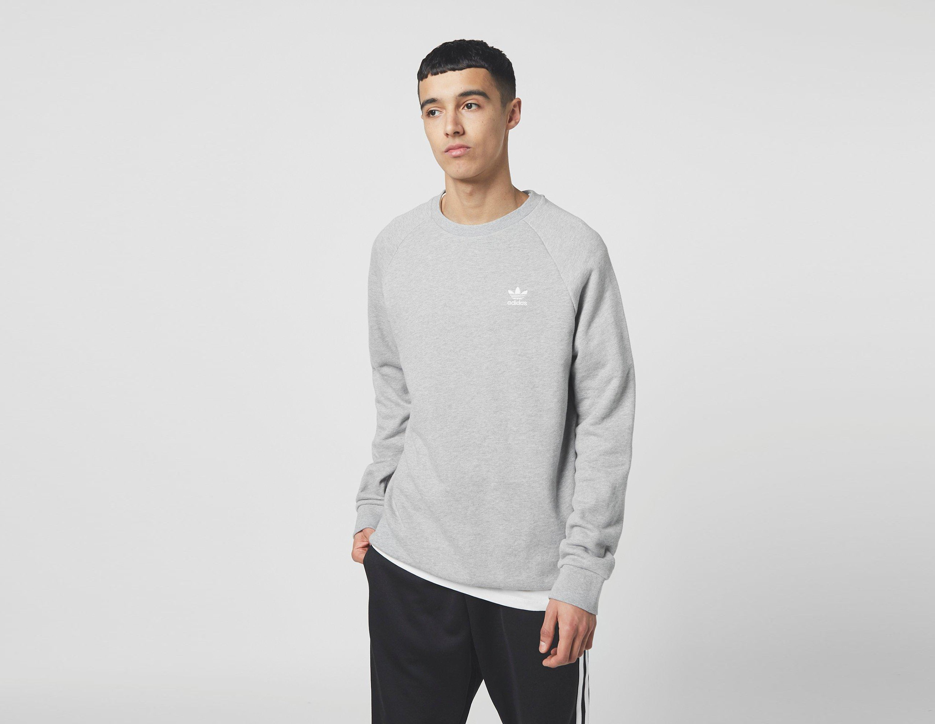 adidas Originals Trefoil Essential Crew Sweatshirt   Size?