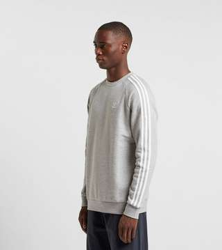adidas Originals 3 Stripe Crewneck Sweatshirt | Size?