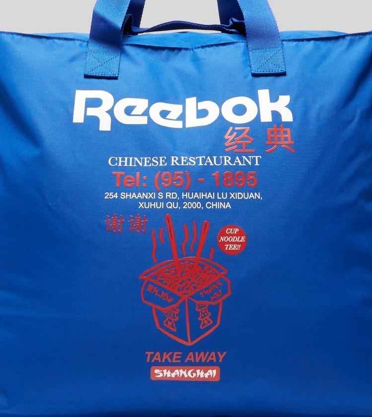 Reebok Chinese Take Away Tote Bag