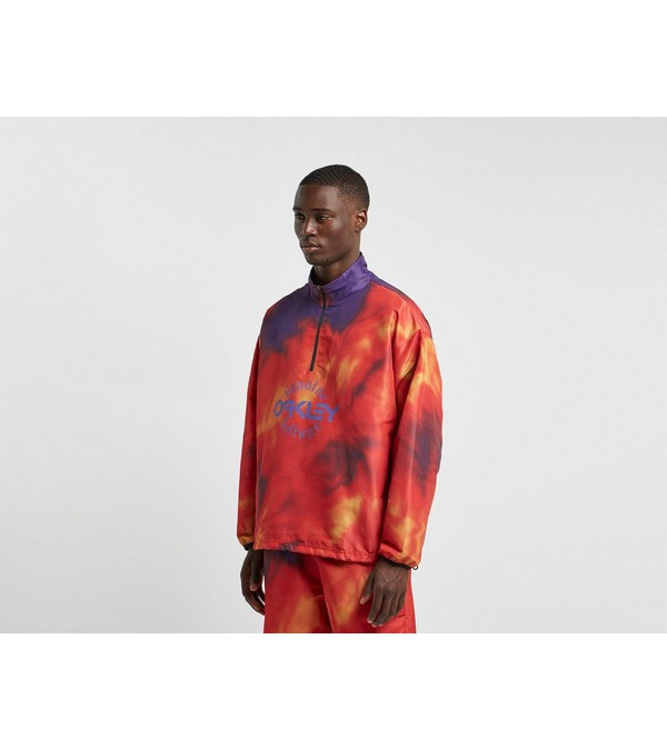 OAKLEY Tie Dye Half Zip Jacket - size?exclusive