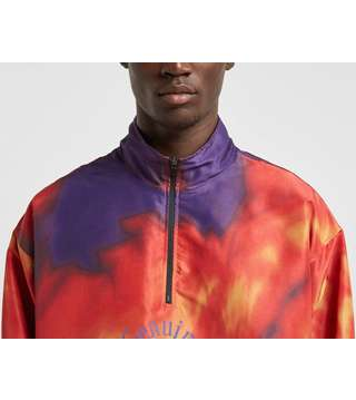 Oakley Tie Dye Half Zip Jacket - size?exclusive