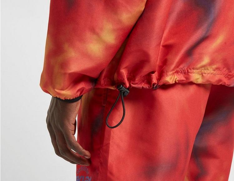 Oakley Tie Dye Half Zip Jacket - size? Exclusive