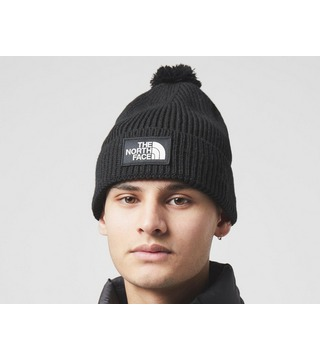 The North Face TNF Box Pom Beanie Hat