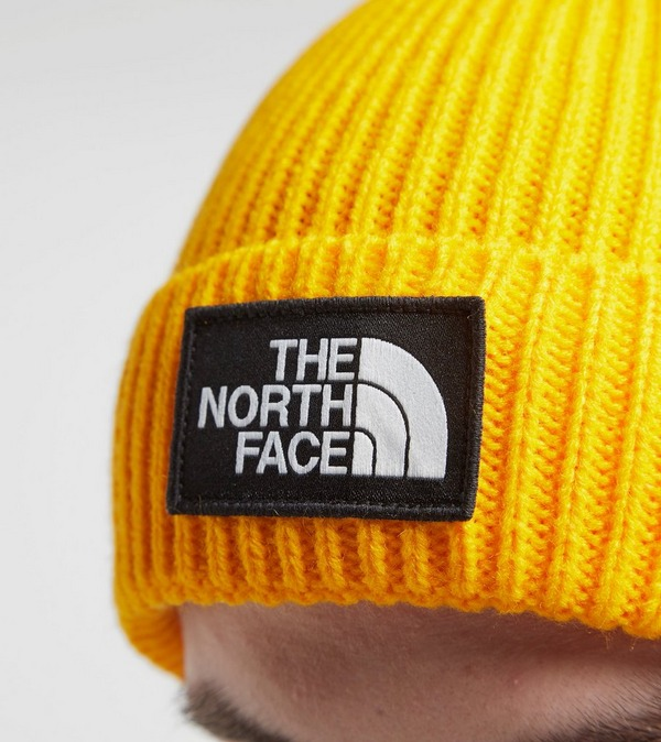 The North Face TNF Box Pom Beanie Hat | Size?