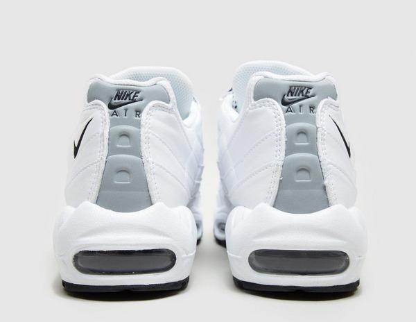 air max 95 nere suola bianca