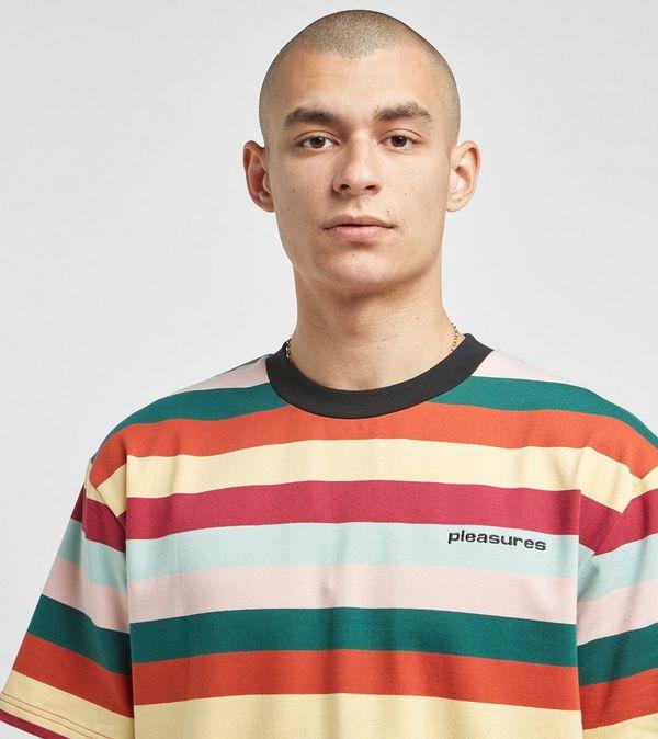 PLEASURES Inbox Stripe T-Shirt