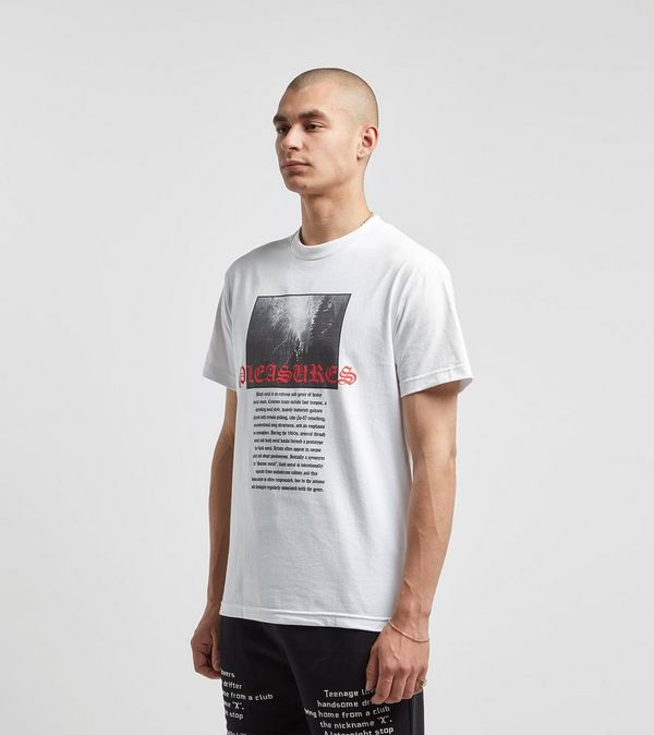 PLEASURES Black Metal T-Shirt