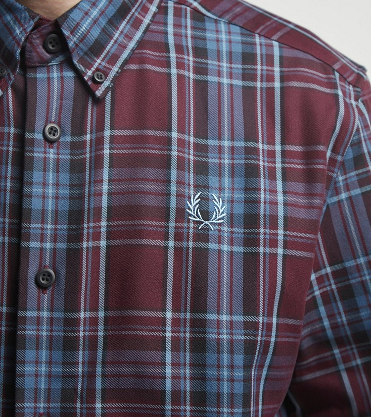Fred Perry Winter Tartan Long Sleeve Shirt