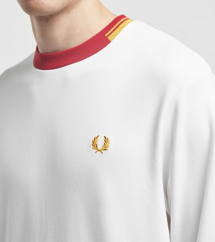 Fred Perry Abstract Collar Crew Sweatshirt