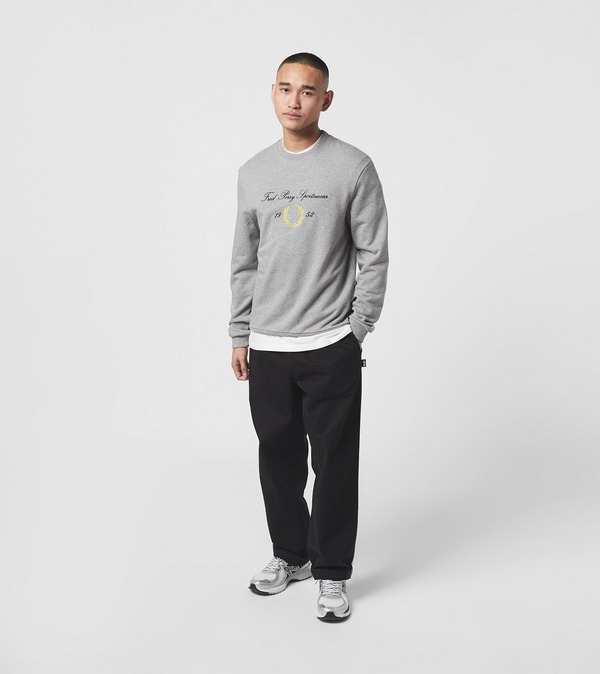 Fred Perry Archive Crew Sweatshirt
