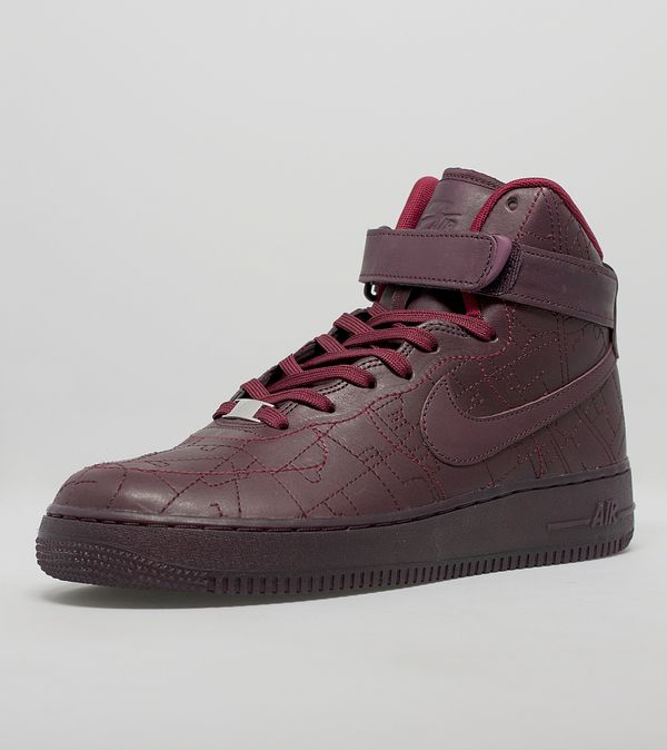 brand new c3daf 7027d Nike Women s Air Force 1 High QS  City Collection