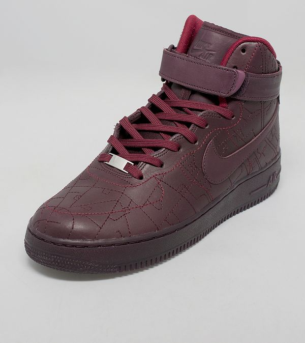 brand new db33a bada2 Nike Women s Air Force 1 High QS  City Collection