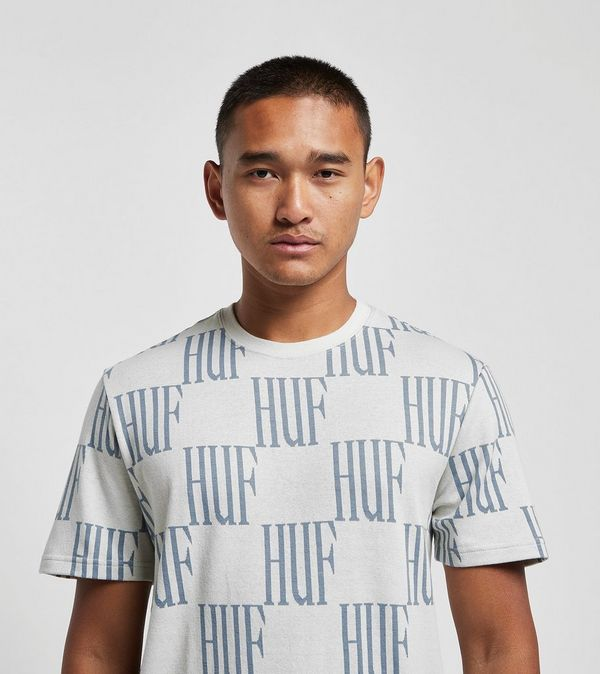 HUF Big Check T-Shirt