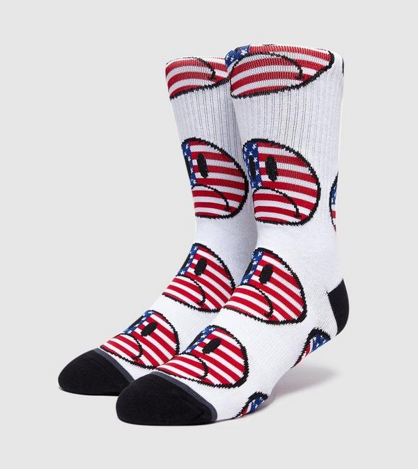 HUF Bummer USA Socks