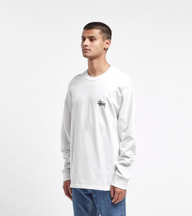 Stussy Basic Logo Long-Sleeved T-Shirt